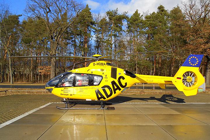 德国医院的急救直升机